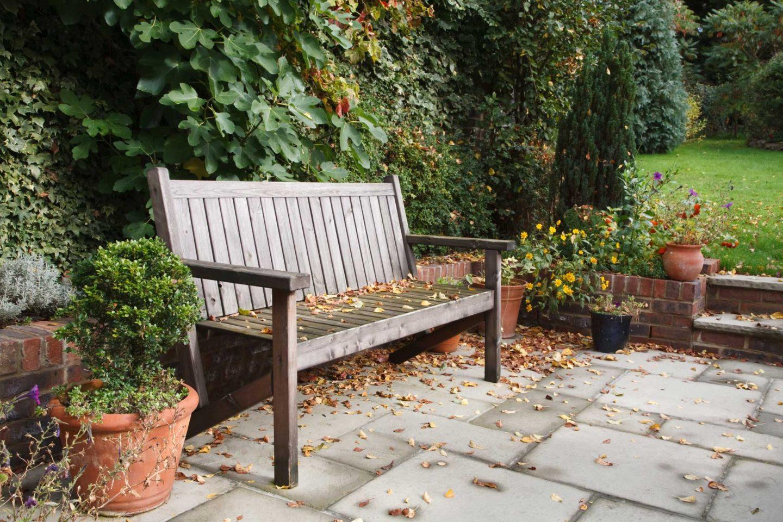 Flagstone Patio Private Garden Capital Masonry Install And Repairs For  Flagstone Masonry